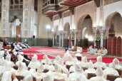 HM King Mohammed VI, Commander of the Faithful, chairs in Casablanca Royal Palace the fourth religious lecture of the holy month of Ramadan