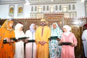 HM King Mohammed VI, Commander of the Faithful, Hands Mohammed VI Prize to Majors of 2017-2018 National Program to Combat Illiteracy in Mosques