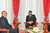 HM King Mohammed VI receives at the Rabat Royal Palace Mr. Chakib Benmoussa