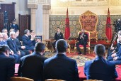 HM King Mohammed VI presides, at the Royal Palace in Rabat, over the signing ceremony of the framework agreement for the implementation of the 2020-2027 National Program for drinking and irrigation water suppl