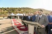 "Essaouira: HM King Mohammed VI inaugurates the ""Moulay Abderrahmane"" dam"