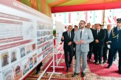 HM King Mohammed VI launches, at the R'cif Place in Fez, the program to enhance economic activities and improve the living environment in the Medina of Fez (2020-2024)