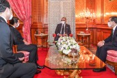 HM King Mohammed VI Receives, at the Royal Palace in Casablanca, Saaid Amzazi and Tasks Him with Function of Government Spokesperson, Othman El Firdaouss whom He Appoints as Minister of Culture, Youth and Sports