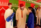 """SM el Rey Mohammed VI da en Tánger la señal de inicio oficial del curso escolar 2016-2017 y lanza la Iniciativa Real """"Un millón de carpetas"""""""