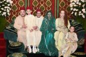 Boda principesca: SM el Rey preside la tradicional ceremonia de la alheña