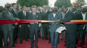 HM King Mohammed VI and President Kérékou inaugurate an University campus - Cavalli, 2004