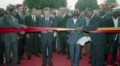 HM King Mohammed VI and President Kérékou inaugurate an University campus - Cavalli, 2004