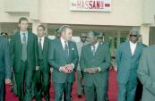 Inauguration of an university residence «Hassan II» in Porto-Novo - Benin, 2004