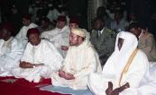HM King Mohammed VI performs Friday prayer, accompanied by President Mamadou Tandja of Niger - Niamey, 2004