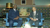 His Majesty King Hassan II receives the Senegal President Mr.Abdou Diouf - Rabat, 1999