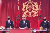 HM King Mohammed VI Delivers a Speech to the Nation on occasion of the 67th anniversary of the Revolution of the King and the People
