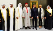 HM King Mohammed VI Takes Part in Opening Ceremony of 'Louvre Abu Dhabi' Museum
