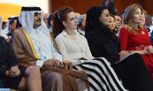 صاحبة السمو الملكي الأميرة للاسلمى تحضر افتتاح أشغال مؤتمر القمة العالمي للابتكار في الرعاية الصحية بالدوحة
