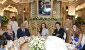 صاحبة السمو الملكي الأميرة للا سلمى تترأس بالرباط حفل عشاء بمناسبة تدشين متحف محمد السادس للفن الحديث والمعاصر