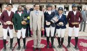 Morocco Royal Tour 2014 (etapa de Rabat): SAR el Príncipe Moulay Rachid preside la ceremonia de entrega del Gran Premio difunta SAR la Princesa Lalla Amina de salto de obstáculos