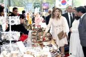 صاحبة السمو الملكي الأميرة للا مريم تترأس بالرباط حفل تدشين السوق الخيري للنادي الدبلوماسي