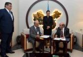 صاحبة السمو الملكي الأميرة للا حسناء تترأس  بمقر منظمة الامم المتحدة للأغذية والزراعة (الفاو)، حفل توقيع اتفاقية بين مؤسسة محمد السادس لحماية البيئة ومنظمة الأغذية والزراعة ( الفاو)