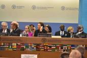 صاحبة السمو الملكي الأميرة للا حسناء تشارك بروما في الحفل الرسمي لتخليد اليوم العالمي للأغذية