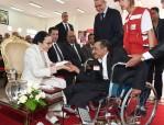 صاحبة السمو الملكي الأميرة للا مليكة تترأس بمؤسسة أحمد بن زايد آل نهيان بعين عتيق (عمالة الصخيرات- تمارة) حفل انطلاق الأسبوع الوطني للهلال الأحمر المغربي