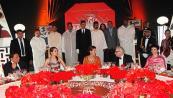 صاحبة السمو الملكي الأميرة للا مريم تترأس حفل عشاء أقامه جلالة الملك بمناسبة الافتتاح الرسمي لفعاليات الدورة 13 للمهرجان الدولي للفيلم بمراكش
