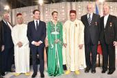 صاحبة السمو الملكي الأميرة للا مريم تسلم بباريس أوسمة ملكية لثلاثة من ممثلي الديانات السماوية بفرنسا