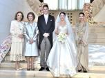 صاحبة السمو الملكي الأميرة للا مريم تحضر بتيرانا حفل زفاف الأمير ليكا الثاني لألبانيا