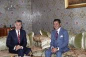 صاحب السمو الملكي الأمير مولاي رشيد يستقبل بالرباط صاحب السمو الملكي الأمير رادو، أمير رومانيا