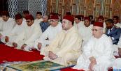 """SM el Rey Mohammed VI cumple la oración del viernes en la mezquita """"Karrakchou"""" en Rabat"""