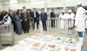Su Majestad el Rey Mohammed VI inaugura, en Beni Mellal,  varios proyectos socioeconómicos destinados a mejorar el entorno de vida de la población local y a reforzar la identidad cultural de la provincia
