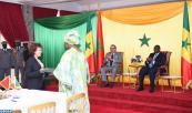 SM el Rey y el Jefe de Estado senegalés presiden la ceremonia de firma de trece acuerdos bilaterales