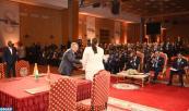 SM el Rey y el presidente de Costa de Marfil presiden, en Marrakech, la ceremonia de firma de 24 acuerdos de asociación público/ privado y privado / privado