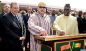 """SM el Rey y el Presidente senegalés inauguran, en el Departamento de Louga, la conexión eléctrica de las aldeas """"Massar Teugue"""" y """"Yamane Seck """""""