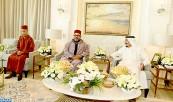 SM el Rey Mohammed VI realiza una visita de amistad y de cortesía al Servidor de los Lugares Sagrados del Islam en su residencia en Tánger