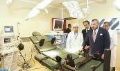 SM el Rey inaugura el Centro Hospitalario Prefectoral Buafi tras su rehabilitación como una infraestructura médica de proximidad avanzada