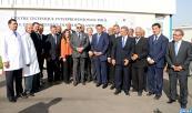 SM el Rey inaugura en Nuacer un centro técnico interprofesional para el desarrollo de los sectores ganaderos y un laboratorio regional de análisis e investigaciones