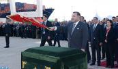 SM el Rey Mohammed VI inaugura el Centro de Negocios Intermodal del Puerto Tánger-Med y lanza las obras de ordenación de una nueva zona de exportación