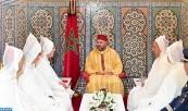SM el Rey, Amir Al Muminin, recibe a la delegación oficial a los Lugares Sagrados del Islam para el peregrinaje