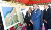 SM el Rey Mohammed VI lanza el primer tramo del proyecto de reestructuración y de integración urbana de la zona Lamkansa Norte en Casablanca
