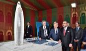 Salé: SM El Rey lanza en Salé las obras de construcción de una torre de 45 plantas en el valle de Bouregreg