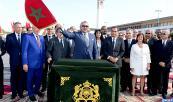 SM el Rey Mohammed VI lanza las obras de realización del Gran Teatro de Casablanca (CasArts), de una inversión de 1,5 mil millones de dírhams