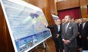 SM el Rey Mohammed VI lanza en Casablanca el programa de habilitación de los ejes viales del polo Errahma-Dar Buazza-Ouled Azzouz