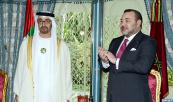 HM the King, HH Sheikh Mohammed bin Zayed Al-Nahyan Chair Signing Ceremony of Several Bilateral Cooperation Agreements