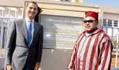 SM el Rey Mohammed VI y el Soberano de España Felipe VI inauguran un centro de formación en hostelería y turismo en Temara