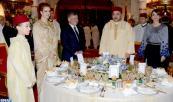 SM el Rey ofrece una cena oficial en honor de SM el Rey Abdallah II y de la Reina Rania de Jordania