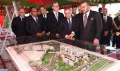 SM el Rey Mohammed VI coloca la primera piedra de la Universidad Mohammed VI de Ciencias de Salud de Casablanca