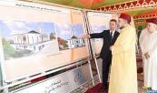 SM el Rey Mohammed VI, Amir Al Muminin, coloca la primera piedra para la construcción de una mezquita en Rabat