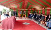 SM el Rey preside en Martil la ceremonia de firma de diez convenios relativos al desarrollo de proyectos acuícolas en Marruecos