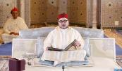 HM King Mohammed VI, Commander of the Faithful, chairs at the Mohammed VI Mosque in Oujda  the sixth religious lecture of the series of the Hassani lectures of the holy month of Ramadan