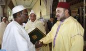 SM el Rey Mohammed VI, Amir Al Muminin, preside, en el Palacio Real de Rabat, la segunda charla religiosa del mes sagrado de Ramadán