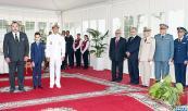 SM el Rey preside en Casablanca la ceremonia de conmemoración del 59 aniversario de la creación de las Fuerzas Armadas Reales